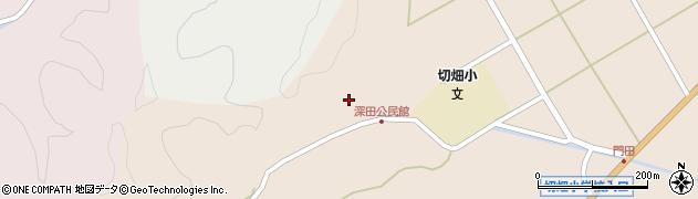 大分県佐伯市弥生大字門田2020周辺の地図