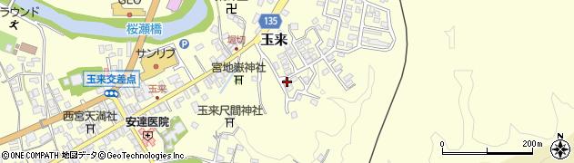 大分県竹田市玉来579周辺の地図