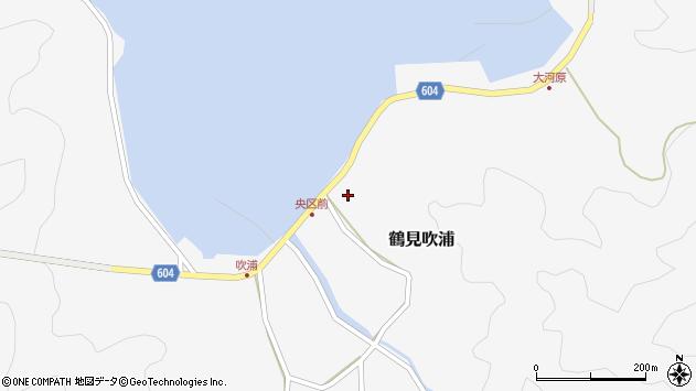 大分県佐伯市鶴見大字吹浦1984周辺の地図