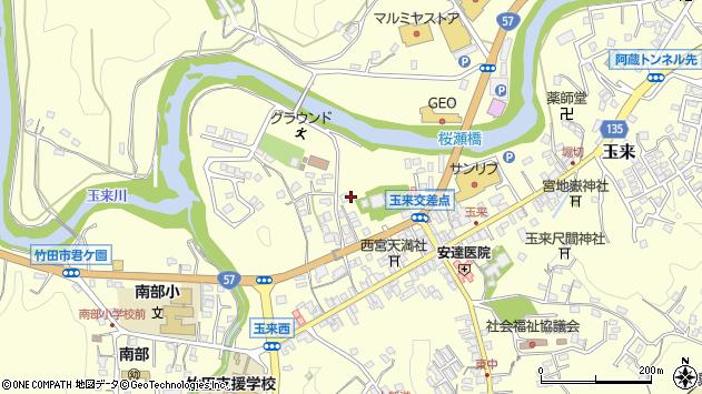 大分県竹田市玉来751周辺の地図