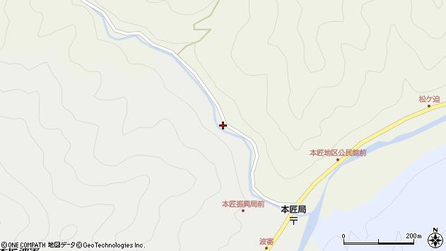 大分県佐伯市本匠大字宇津々1959周辺の地図