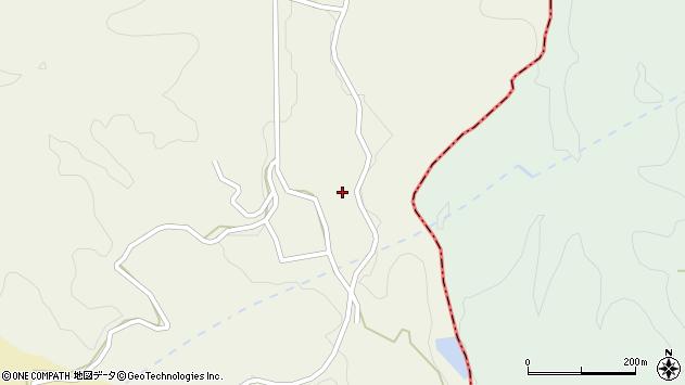 大分県竹田市片ケ瀬163周辺の地図