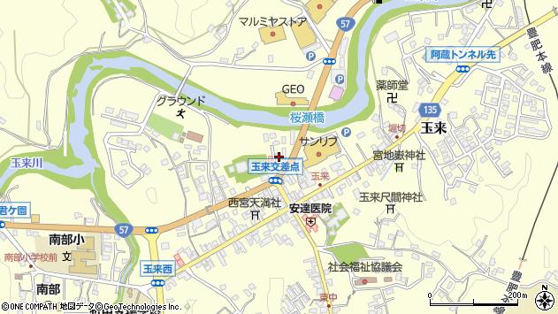 大分県竹田市玉来773周辺の地図