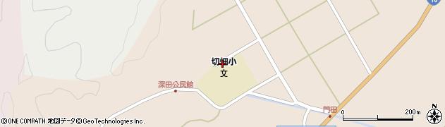 大分県佐伯市弥生大字門田1324周辺の地図