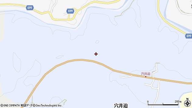 大分県竹田市穴井迫1392周辺の地図