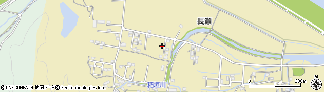 大分県佐伯市稲垣1420周辺の地図