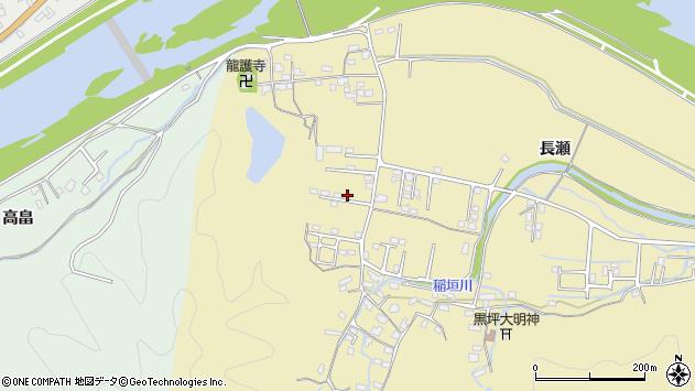 大分県佐伯市稲垣1096周辺の地図