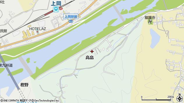 大分県佐伯市稲垣695周辺の地図