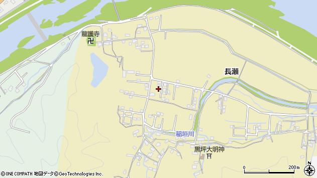 大分県佐伯市稲垣1438周辺の地図