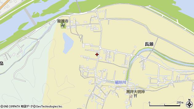 大分県佐伯市稲垣1092周辺の地図