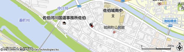 大分県佐伯市城南町24周辺の地図