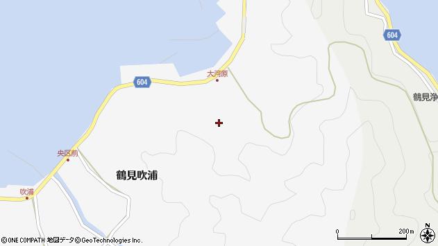 大分県佐伯市鶴見大字吹浦1608周辺の地図