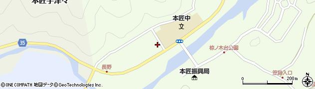 大分県佐伯市本匠大字笠掛1179周辺の地図
