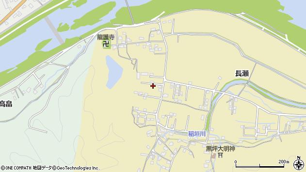 大分県佐伯市稲垣1089周辺の地図