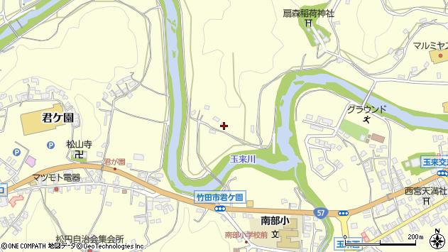 大分県竹田市拝田原1192周辺の地図
