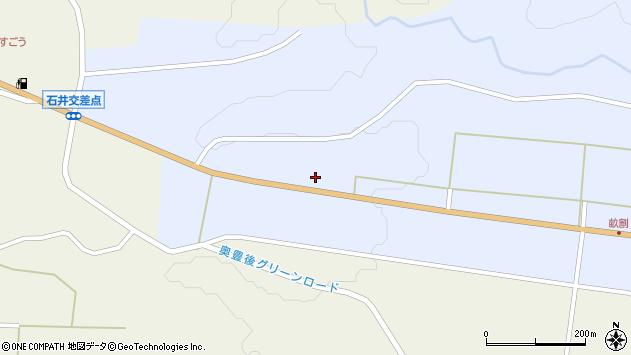 大分県竹田市戸上559周辺の地図