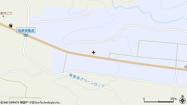 大分県竹田市戸上504周辺の地図