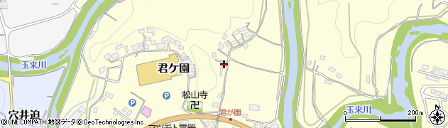 大分県竹田市君ケ園321周辺の地図