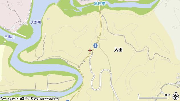 大分県竹田市入田3325周辺の地図