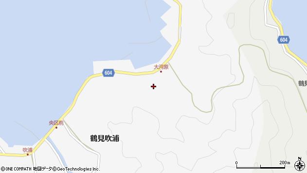 大分県佐伯市鶴見大字吹浦1663周辺の地図