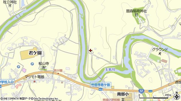 大分県竹田市拝田原1177周辺の地図
