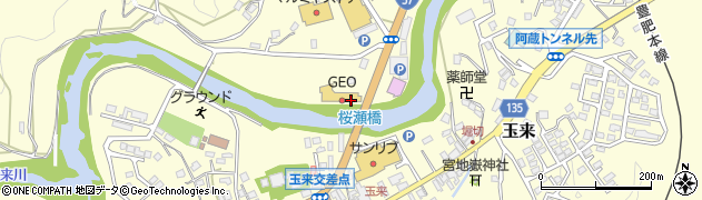大分県竹田市拝田原771周辺の地図