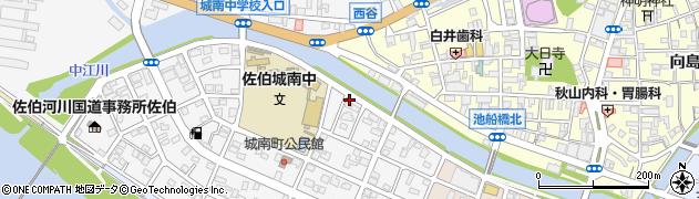 大分県佐伯市城南町15周辺の地図