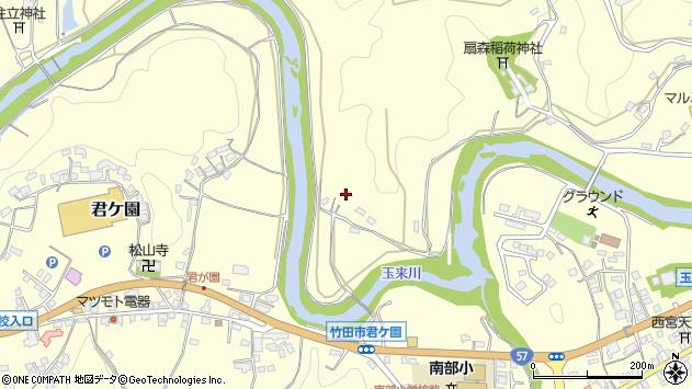 大分県竹田市拝田原1185周辺の地図