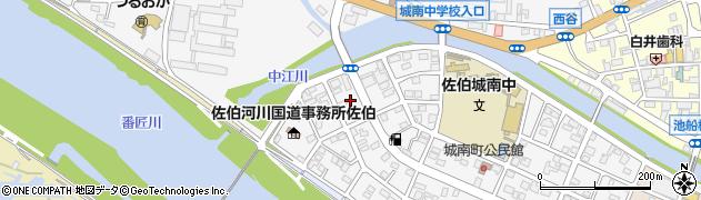 大分県佐伯市城南町29周辺の地図