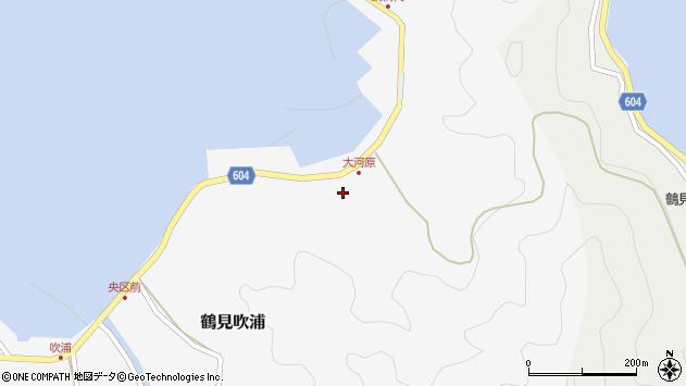 大分県佐伯市鶴見大字吹浦1668周辺の地図