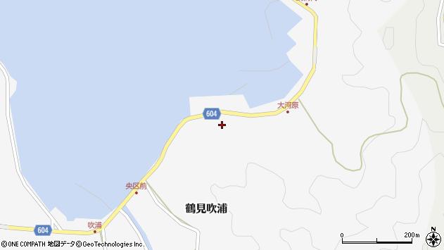 大分県佐伯市鶴見大字吹浦1562周辺の地図