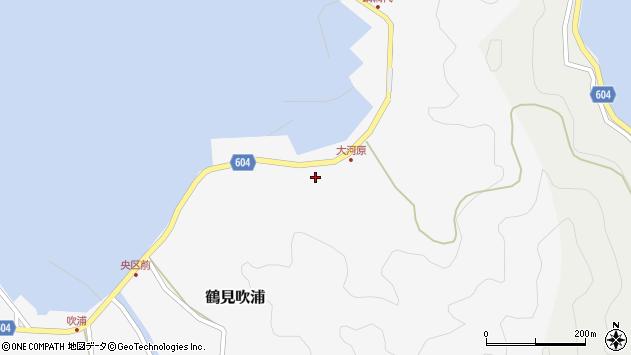 大分県佐伯市鶴見大字吹浦1581周辺の地図