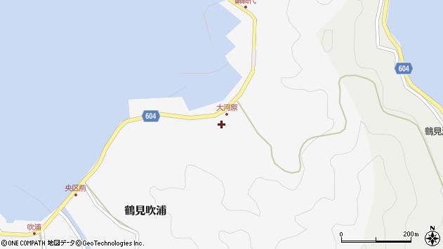 大分県佐伯市鶴見大字吹浦1666周辺の地図
