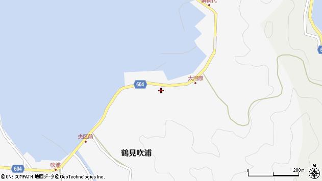 大分県佐伯市鶴見大字吹浦1571周辺の地図