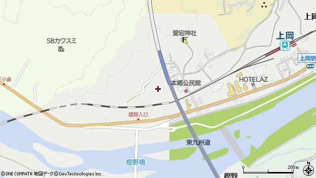 大分県佐伯市上岡1648周辺の地図