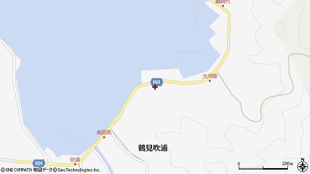 大分県佐伯市鶴見大字吹浦1510周辺の地図