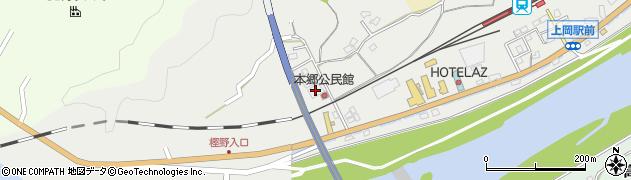 大分県佐伯市上岡1673周辺の地図