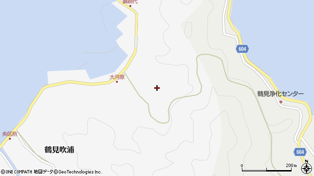 大分県佐伯市鶴見大字吹浦1751周辺の地図
