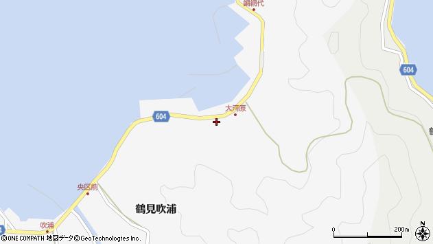 大分県佐伯市鶴見大字吹浦1670周辺の地図