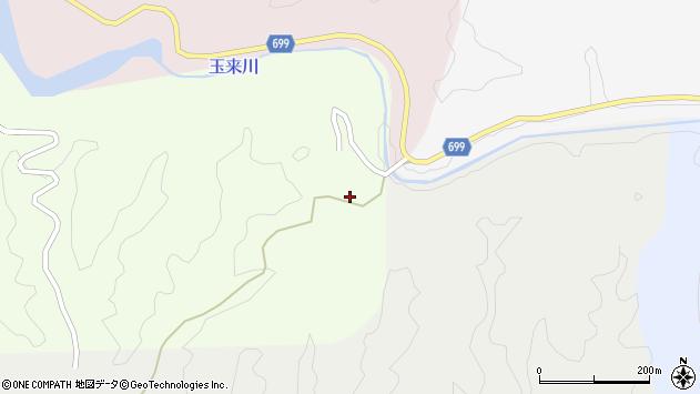 大分県竹田市向山田1156周辺の地図