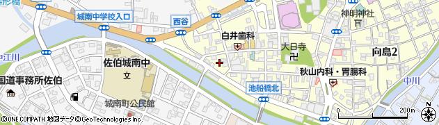 大分県佐伯市船頭町15周辺の地図