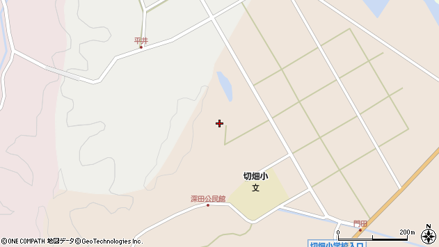 大分県佐伯市弥生大字門田1679周辺の地図