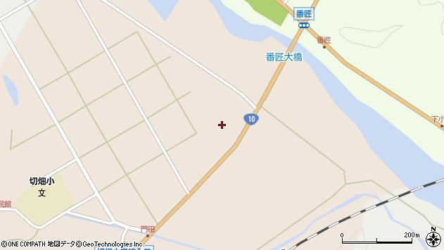 大分県佐伯市弥生大字門田1286周辺の地図