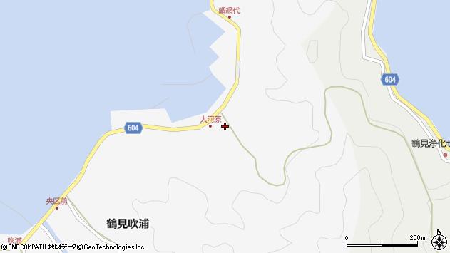 大分県佐伯市鶴見大字吹浦1685周辺の地図