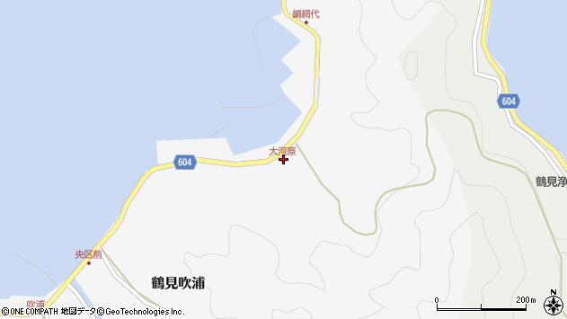 大分県佐伯市鶴見大字吹浦1674周辺の地図