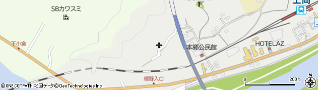 大分県佐伯市上岡1651周辺の地図