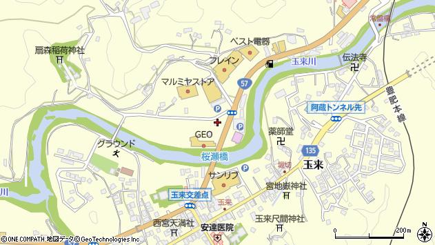 大分県竹田市拝田原768周辺の地図