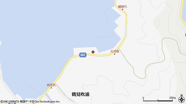 大分県佐伯市鶴見大字吹浦1565周辺の地図