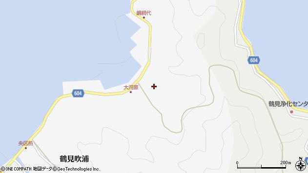大分県佐伯市鶴見大字吹浦1832周辺の地図