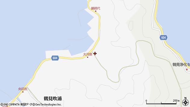 大分県佐伯市鶴見大字吹浦1681周辺の地図